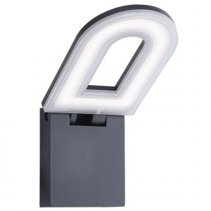 0583GY Manhattan LED Outdoor - Wall Bracket, Dark Grey, Frosted Diffuser