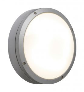 Saxby 13856 Cygnet Single Outdoor IP65 Wall Light Textured Grey Paint Finish
