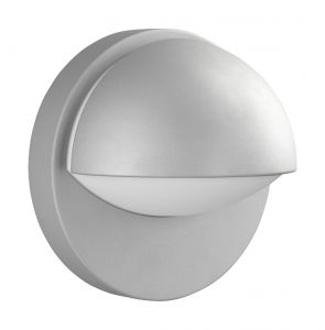 Reno Wall Lamp 1 Light E27 IP44 Exterior Grey Aluminium/Synthetic