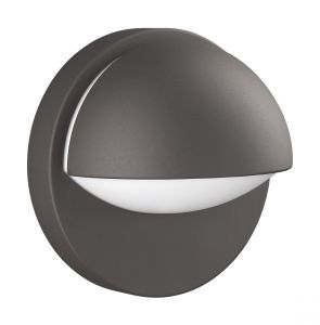 Reno Wall Lamp 1 Light E27 IP44 Exterior Graphite Aluminium/Synthetic