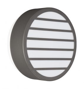 Linz Wall Lamp 1 Light E27 IP44 Exterior Graphite Aluminium/Synthetic