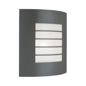 Link Wall Lamp 1 Light E27 IP44 Exterior Graphite Aluminium/Synthetic