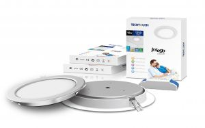 Intego Round Classic 8 Inch 16W Cool White 1370lm (White Finish), 3yrs Warranty