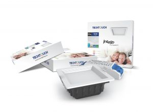 Intego Pro Square Small 21W Warm White 1030lm, 3yrs Warranty