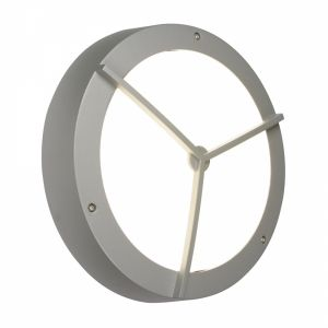 Saxby 3171LAEM Jet Cross Single Outdoor IP55 Emergency Ceiling/Wall Light Textured Grey Paint