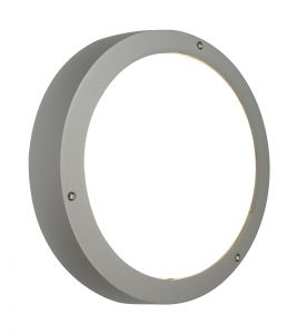 Saxby 3172LA Jet Plain Single Outdoor IP55 Ceiling/Wall Light Textured Grey Paint