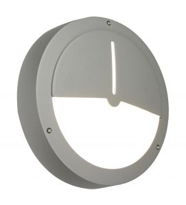 Saxby 3173LA Single Outdoor Wall Light Stainless Finish
