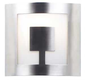 Endon 404-SC Satin Chrome Finish E14  Wall Bracket Kt 1 Light In Chrome