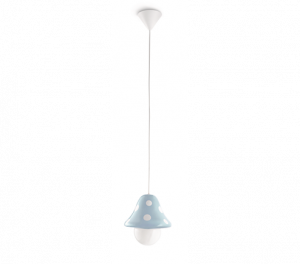 Boletu Single Kids Pendant, 1 Light E27 Blue