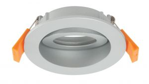 Saxby 42913 Orbita Recessed Bezel Only White Finish