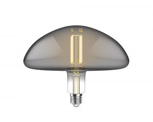 Classic Style LED Type J E27 Dimmable 220-240V 4W 2100K, 200lm, Amber Finish, 3yrs Warranty