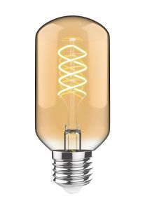 Classic Style LED Gold Top G80 E27 Dimmable 220-240V 4W 2700K, 330lm, Gold/Clear Finish, 3yrs Warranty