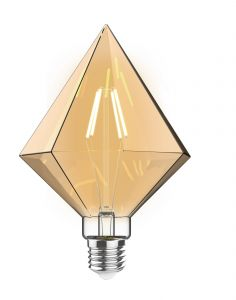 Classic Style LED Tri-Diamond E27 Dimmable 4W 2100K