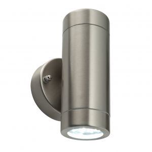 Saxby 54644 Palin Double Up & Down 3.2W LED Outdoor IP44 Wall Light