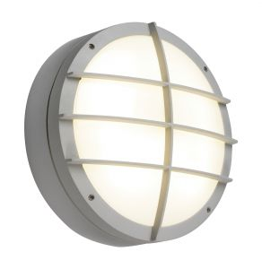 Saxby 7014A Brook 28W Single IP65 Outdoor Wall Light Textured Grey Finish