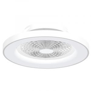 Tibet 70W LED Dimmable Ceiling Light With Built-In 35W DC Fan, c/w Remote Control and APP Control, 3000lm, White, 5yrs Warranty