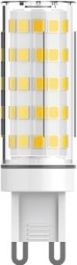 Pixy LED G9 5W 3000K Warm White, 380lm Non-Flickascotg, Clear Finish, 17*50mm3yrs Warranty 17*50mm