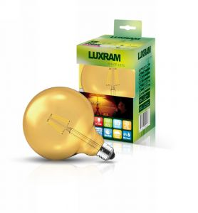 Value Vintage LED Globe D120 E27 230V 8W 2200K Colour-Box (Gold) (1/1)