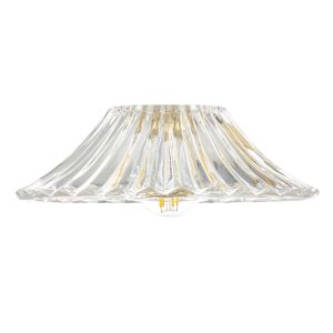 Dar ACC864 Accessory Clear Flared Glass Shade Only