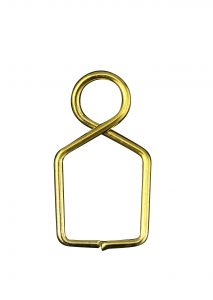 Diyas C90076 Square Claw Link 8X14mm Gold