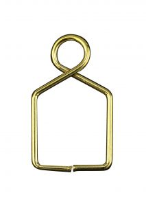 Diyas C90077 Square Claw Link 10X18mm Gold