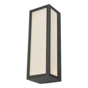 Dar ARH2139 Arham Single Wall Light Anthracite Outdoor LED Finish