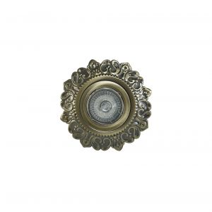 Diyas IL30846AB Aspen Vintage Scripture Downlight Round GU10 Antique Brass