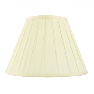 Carla 14 Inch Cream Fabric Shade Finish