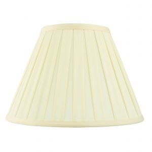 Carla 6 Inch Cream Fabric Shade Finish