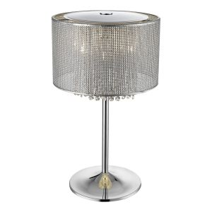 Magnum 4 Light G9 Table Lamp Silver