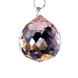 Diyas C10031 Crystal Sphere Without Ring Lilac 30mm