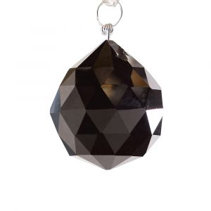 Diyas C10032 Crystal Sphere Without Ring Black 30mm