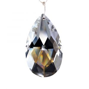 Diyas C20050 Crystal Pendalogue Without Ring Clear 50mm