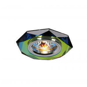 Diyas IL30814MC Crystal Downlight Hexagonal Rim Only Spectrum, IL30800 Required To Complete The Item