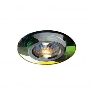Diyas IL30816MC Crystal Downlight Chamfered Round Rim Only Spectrum, IL30800 Required To Complete The Item