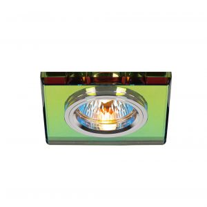 Diyas IL30817MC Crystal Downlight Shallow Square Rim Only Spectrum, IL30800 Required To Complete The Item
