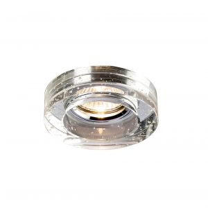 Diyas IL30831CH Crystal Bubble Downlight Round Rim Only Clear, IL30800 Required To Complete The Item