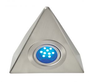 Saxby DL31LEDB Triangle Blue LED Under Cabinet Light