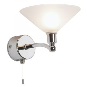 Endon EL-20027 Ip44 Chrome G9 Single Wall Lgt 1 Light In Chrome