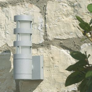 Endon EL-40013 Outdoor With Lamp+11W Photocell 1 Light In Metal