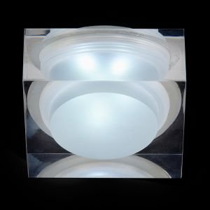 Endon EL-IP-7000, Icen Square, Clear & frosted acrylic