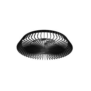 Mantra M7121 Himalaya 70W LED Dimmable Ceiling Light With Built-In 30W DC Fan, c/w Remote Control, APP, Alexa & Google Voice Control, 3000lm, Black, 5yrs Warranty