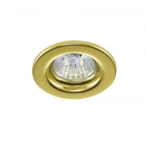 Deco D0039 Hudson GU10 Fixed Downlight Gold (Lamp Not Included)