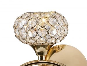 Diyas ILG30961 Leimo Shade French Gold / Crystal