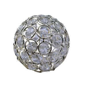 Diyas Home IL70025 (DH) Malo Small Crystal Decorative Ball