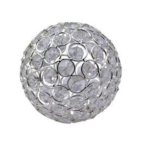 Diyas Home IL70027 (DH) Malo Large Crystal Decorative Ball