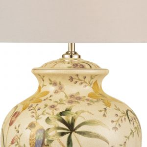 DAR MIM4202 Mimosa Single Table Lamp Moulti Coloured Finish (Base Only)