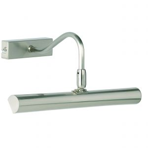 Linton Double Picture Light Satin Chrome Finish