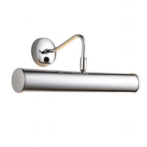 Turner Double Picture Light Polished Chrome Finish Switched