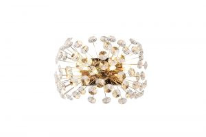 Riptor Wall Light 4 Light G9 French Gold/Crystal